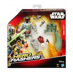 STAR WARS HERO MASHERS CON ACCESSORIO