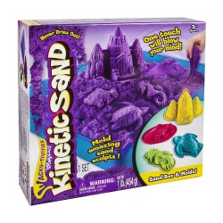 KINETIC SAND KIT COMPLETO DI GIOCO