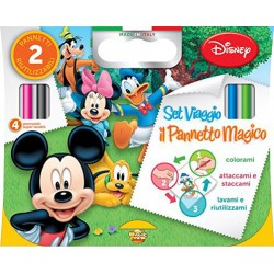 VALIGETTA MICKEY MOUSE 2 PENNETTI 4 PENNELLI