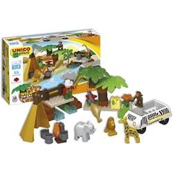 Unicoplus 8560-0000 - Safari, 55 Pezzi