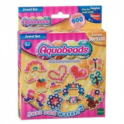 AQUABEADS JEWEL SET 630 PERLE 8 COLORI REFILL