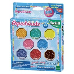 AQUABEADS JEWEL PACK 840 PERLE 8 COLORI