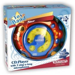 LETTORE CD CON 2 MICROFONI