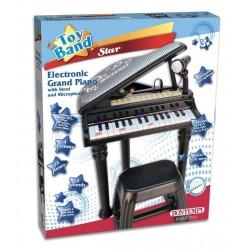 PIANOFORTE CON GAMBE E SGABELLO