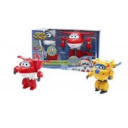 SUPERWINGS PERS. TRASF. PARLANTE