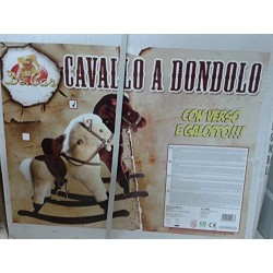 CAVALLO DONDOLO 2 COLORI ASS.