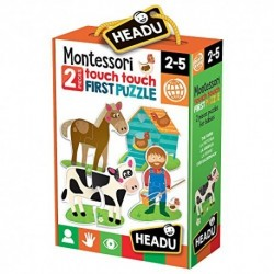 MONTESSORI TOUCH 2 PZ PUZZLE THE FARM