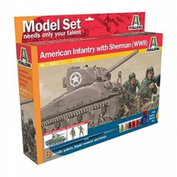 M4 SHERMAN U.S. INFANT MODEL SET