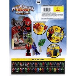 POWER RANGERS SUPER MEGA FORCE BLISTER 3 CHIAVETTE