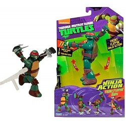 TURTLES PERSONAGGIO DELUXE NINJA ACTION