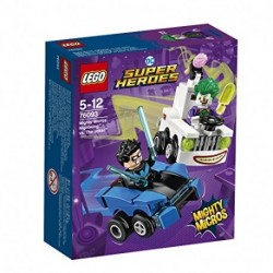 MIGHTY MICROS NIGHTWING CONTRO THE JOKER