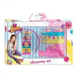 SET ACCESSORI CAPELLI 10 PZ SOY LUNA